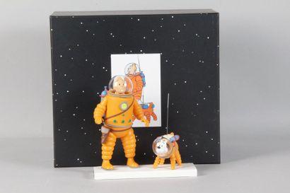 Collection»Lune» Tintin et Milou sur la glace...