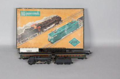 Boite JOUEF «Orient Express»
