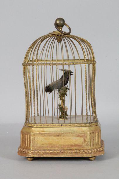 Petite cage à 1 oiseau chanteur dans le gout...