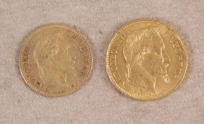 1 - PIÈCE DE 20 F or à l'effigie de Napoléon...