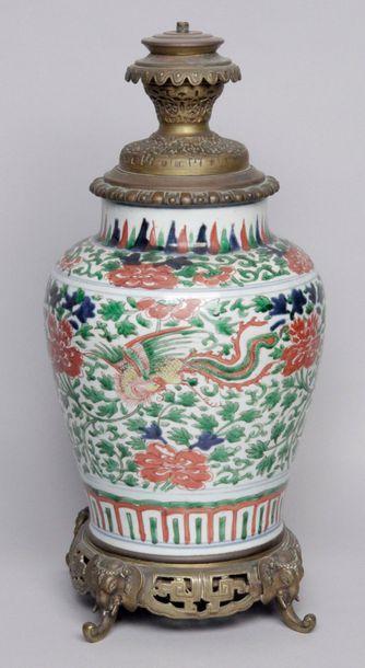 CHINE, deuxième moitié du XVIIe siècle