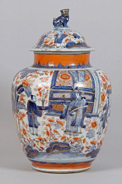 CHINE, IMARI, début XIXe siècle