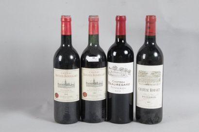 1 Blle Château ROUGET (Pomerol) 1995 - Belle...