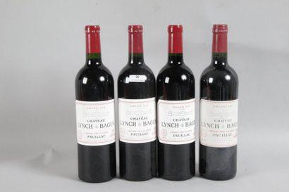 1 Blle Château LYNCH BAGES (Pauillac) 2011...