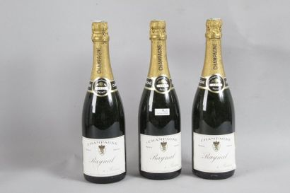 3 Blle CHAMPAGNE RAYNAL BRUT - Belles