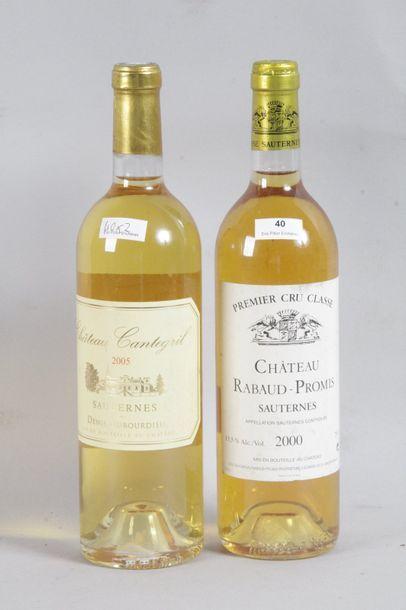 Attention lot modifié 1 Blle Château RABAUD...