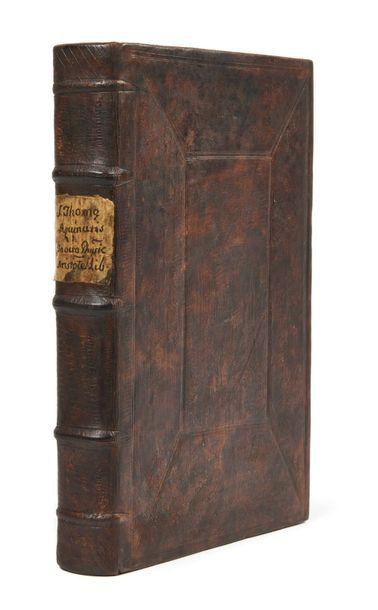 [ARISTOTE] THOMAS D'AQUIN (1225-1274) JEAN DE JANDUN (vers 1280-1328)