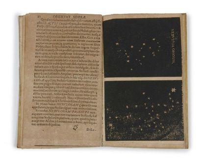 GALILEO GALILEI (1564-1642) et JOHANNES KEPLER (1571-1630) Sidereus nunciu [suivi...