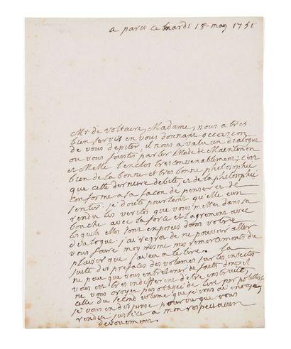 [RENÉ-ANTOINE DE FERCHAULT DE REAUMUR] (1683-1757)