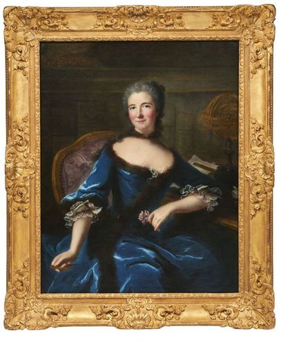 ATTRIBUÉ À MARIE-ANNE LOIR (1705-1783)