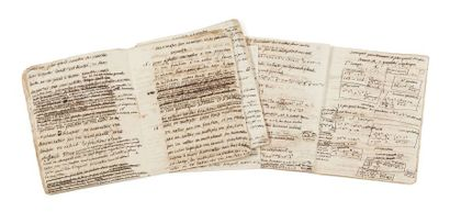 ÉMILIE DU CHÂTELET (1706-1749) «Cours de géométrie»: manuscrits autographes [S.l....