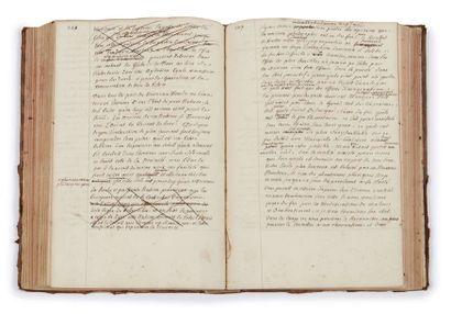 Louis-Élisabeth de la Vergne, comte de TRESSAN (1705-1783) Essay sur le fluide subtil...