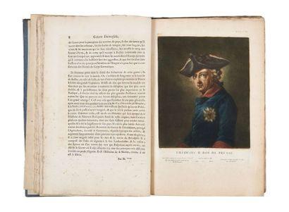 JACQUES FABIEN ET JEAN-BAPTISTE ANDRÉ GAUTIER-DAGOTY (1716-1785 et 1740-1786)
