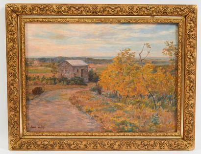 * Henri Aimé DUHEM (1860-1941).  Val de canche,...
