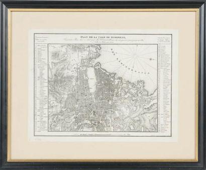 Plan de Marseille Epoque XIXème siècle. 28...