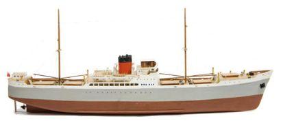 Maquette du cargo Kittewake 100 x 22 x 40...