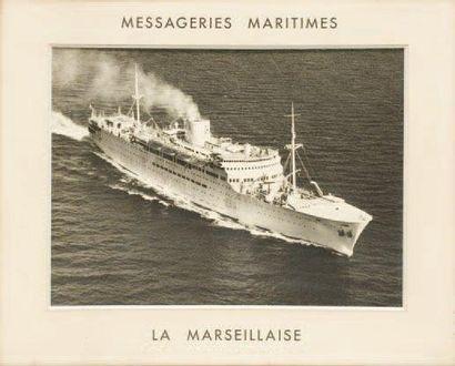 Photographie d'agence Messagerie Maritimes,...