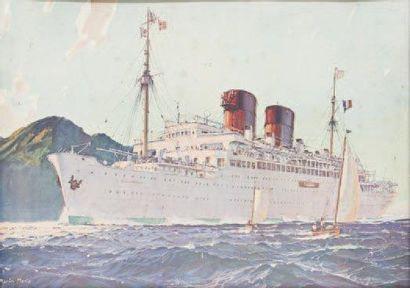 Compagnie Générale Transatlantique Paquebot...