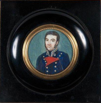 Miniature d'un médecin de la marine Epoque...