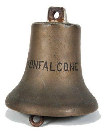 Cloche en bronze du bateau MONFALCONE H.:...