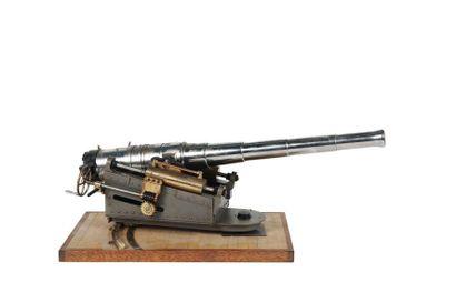Maquette d'un canon d'artillerie navale Modèle 1905.