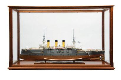 Maquette d'un cuirassé de la flotte Impériale...
