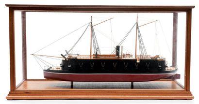 Maquette du ponton français «Arrogante» Sous...