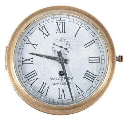 Horloge de cloison Malacrida à Marseille...