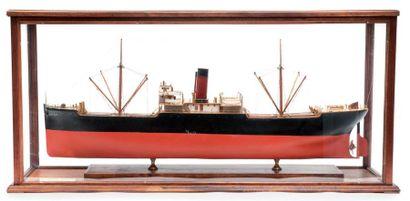 Maquette du «Elva Seed» construit en 1924...