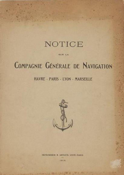 Notice sur la compagnie générale de Navigation...