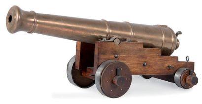 Maquette de canon de marine