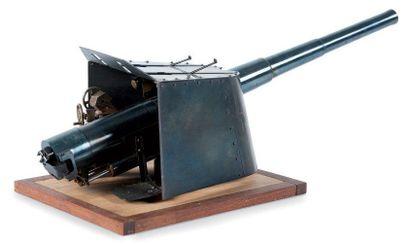 Très belle maquette de canon de marine L.:...