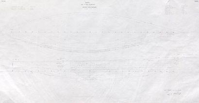 Plan de forme du bateau Raph pour Alain Gliskman...