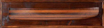 Demi-coque de bateau 83 x 24 cm