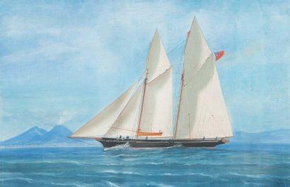 Attribué à Antonio de Simone (1851-1907)