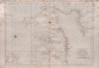 Carte particulière de Normandie contenant...