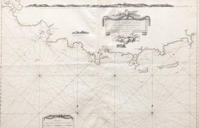 Carte particulière des côtes de Provence...