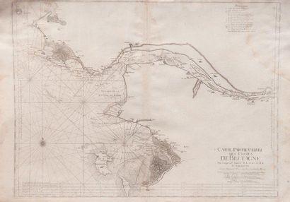 Carte particulière des côtes de Bretagne...