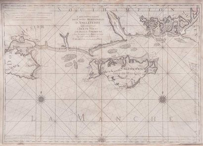 Carte particulière des côtes méridionales...