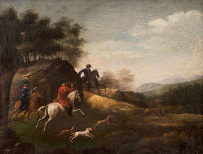 Jan van HUCHTENBURGH (1647-1733), attribué à