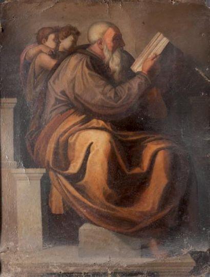 Ecole italienne du XVIIème siècle, d'après Michel-ANGE