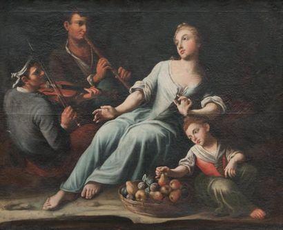 Ecole NAPOLITAINE du XVIIIème siècle