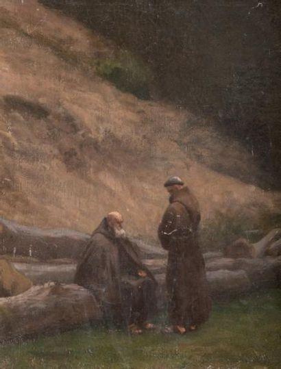 François-Léon BENOUVILLE (1821-1859), attribué à