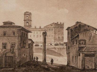 François-Marius GRANET (1775-1849), attribué à