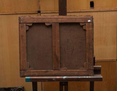 Isidore PILS (1813-1875), attribué à L'espagnole. Huile sur toile. 56 x 47 cm