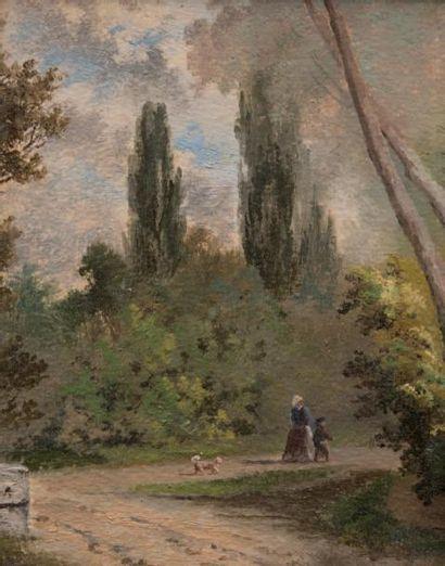 Ecole française romantique, première moitié du XIXème siècle