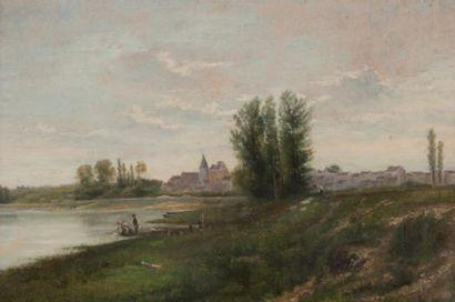 Paul Désiré TROUILLEBERT (1829-1900), attribué à