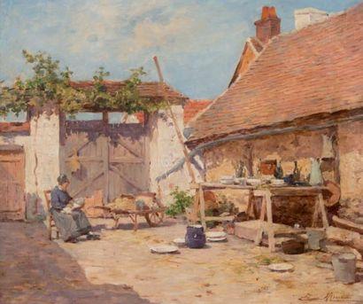 Louis Émile MINET (1850-1920)