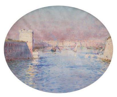Louis Adolphe GAUSSEN (1871-1954) attribué à