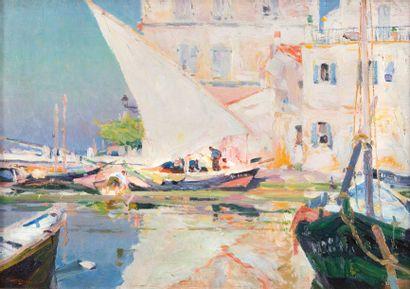 Louis Agricol MONTAGNE (1879-1960)